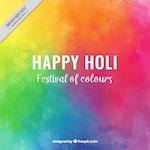 Colorful background for holi festival