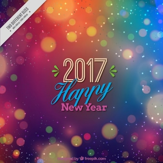 Colorful background for new year