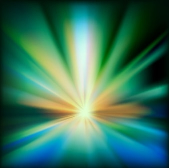 Colorful beam abstract light background