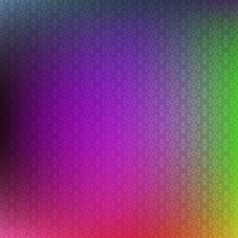 Colorful blurred background with ornaments