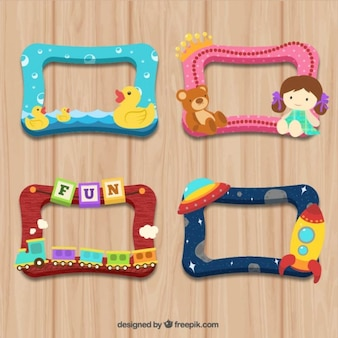 Colorful child frames