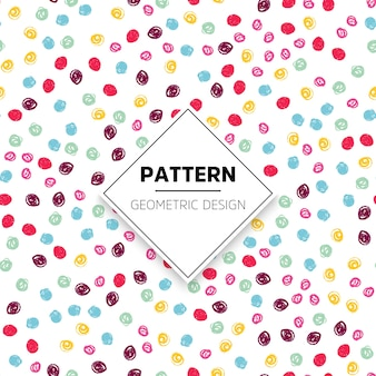 Colorful dots pattern
