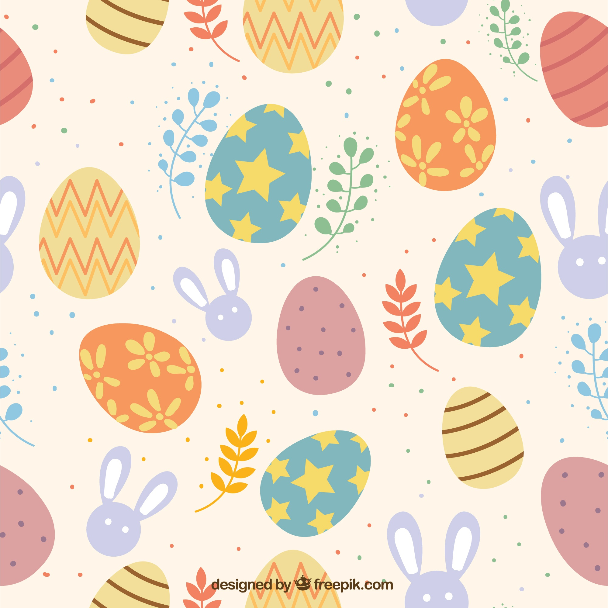 Colorful Easter Day Pattern