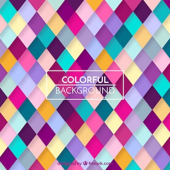 Colorful geometric pattern background