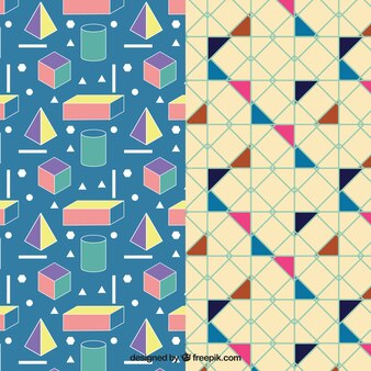 Colorful Geometric Pattern Pack