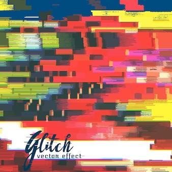 Colorful glitch background