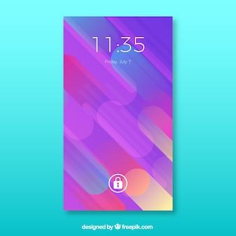 Colorful mobile wallpaper