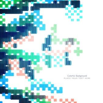 Colorful modern background design