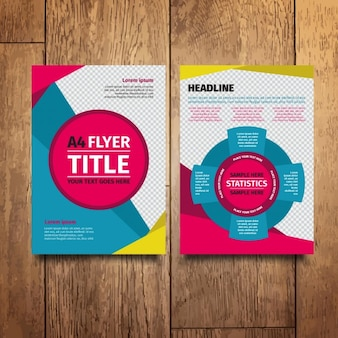 Colorful Modern Flyer Design