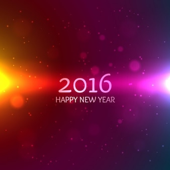 Colorful new year bokeh background