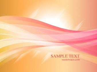 Colorful Orange & Rose Background