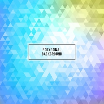 Colorful polygonal background with triangles