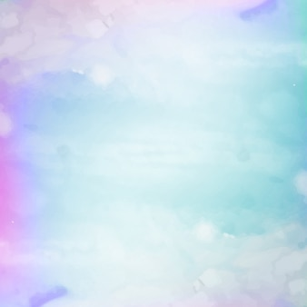 Colorful shiny watercolor background design