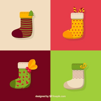 Colorful socks collection