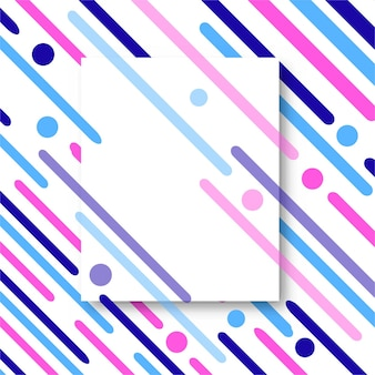 Colorful striped background with space
