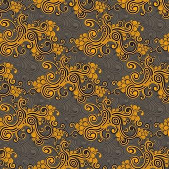 Colorful swirls pattern