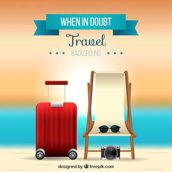 Colorful travel background