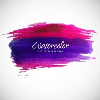 Colorful watercolor background, rosa y púrpura