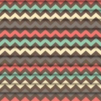 Colorful zig zag  background