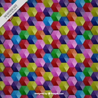 Colors diamond pattern