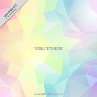 Colors polygonal abstract background