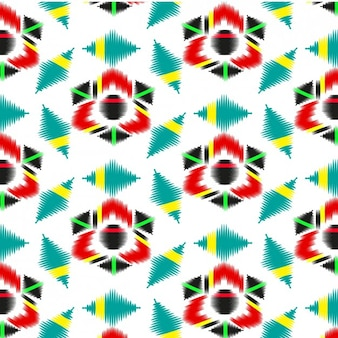 Coloured abstract textile pattern