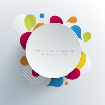 Coloured background design