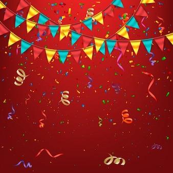 Coloured birthday background