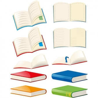 Coloured books collection
