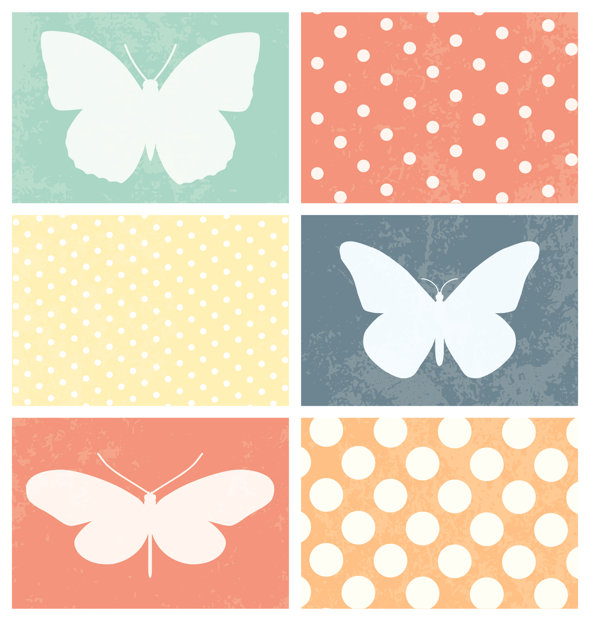 Coloured designs collection