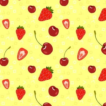 Coloured fruits background