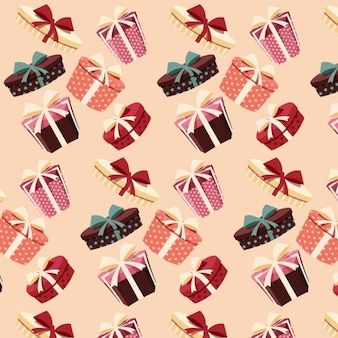 Coloured gifts pattern