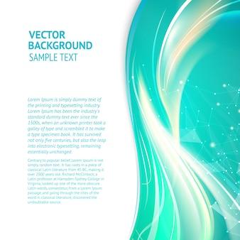 Coloured letterhead design