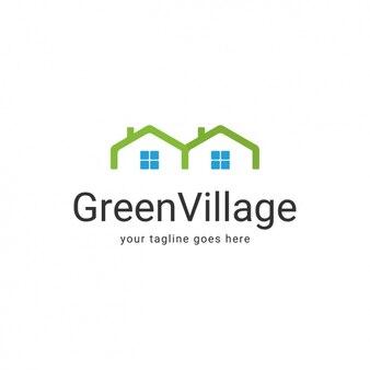 Coloured logo template