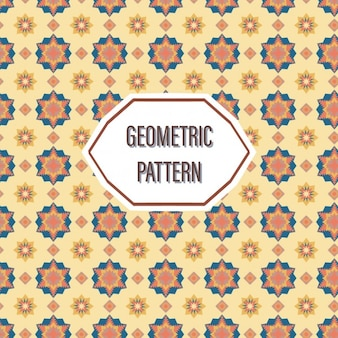 Coloured mosaics pattern