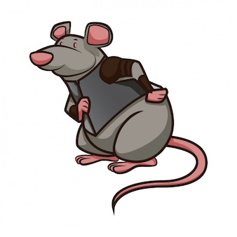 Coloured mouse design