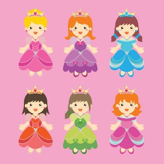 Coloured princess collection
