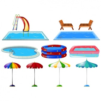 Swimming Pool Vectors, Photos and PSD files | Free Download