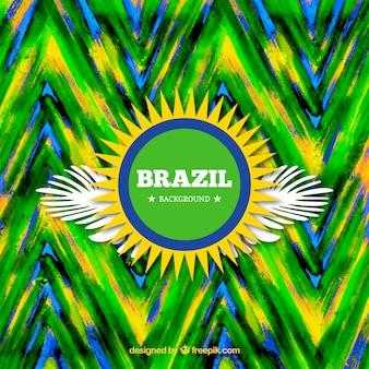 Colourful Brazil carnival background