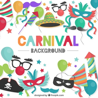 Colourful carnival background
