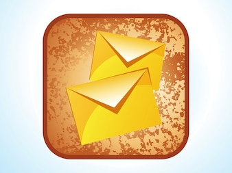 communication Mail icon vector pack