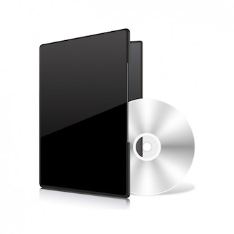 Compacr disc template