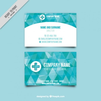 Company director business card