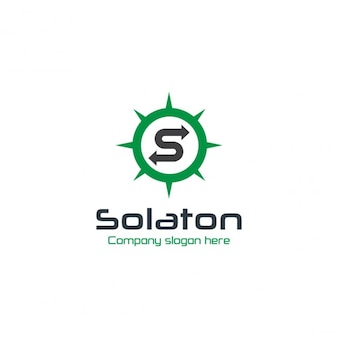 Company green circular logo