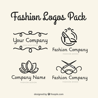 Company logotype set