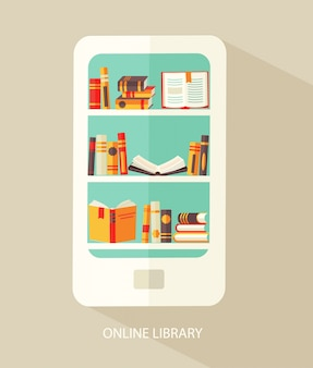 Concept for digital library.