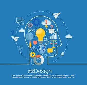 Concept of big idea.