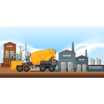Construction background design