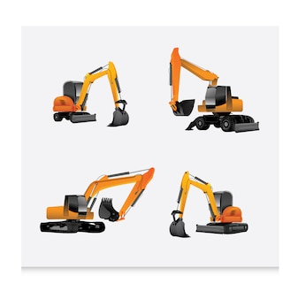 Construction machines collection