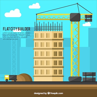 Construction of a building